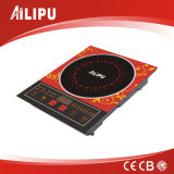 Zhongshan Shunmin Hot Selling Big Size Touching Red Ailipu Induction Cooker with Blue Lighting (ALP-12)