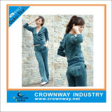 Wholesale Hoody Velvet Track Suit for Women