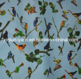 Home Textile Supplier Polyester Custom Textile Print Fabric