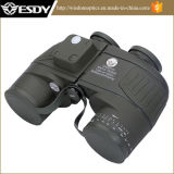 Tactical 10x50 Navy Illuminant Binocular with Rangefinder and Compass Reticle