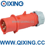 Qixing High-End Type Industrial Plug IP44 400V 4p 16A 6h
