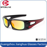 China Wholesale New Fashion Mirror Lens Safety Sport Goggles Polarized UV Protective Eyewear Top Quality Sporty Sunglasses