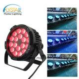 Hot Sale Lowest Price 18PCS*15W Flat PAR Can Light