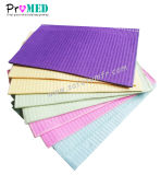CE, FDA Approved Dental Bib, Disposable Dental napkin, water proof/spalsh resistant/PE film/Paper Dental napkin