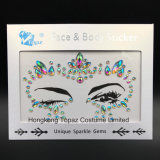 2018 Newest Popular Eye Stickers White Studs Body Jewels Colored Crystal Face Stickers (E30)