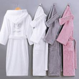 2018 Hot Selling Colorful Customized Cheap Cotton Terry Bathrobe