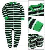 Baby Cotton Stripe Pajamas Baby Girls and Boys Winter Warm Long Sleeve Children Baby Clothes