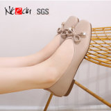 Cheap Wholesale Latest Style Flat Girls Leather Ballet Shoes