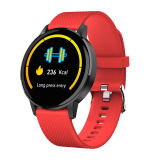 "Food-Grade Silicone Strap 1.22"" Big HD Screen Watch Mobile Phone with Blood Pressure Blood Oxygen Heart Rate Monitor Smart Bracelets"