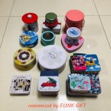 Custom Printed Cookie Biscuit Chocolate Food Storage Packing Metal Tin Container Box