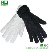 Wholesale Fashion Women Knitted Warm Gloves