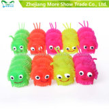 Light up Soft Plastic Spike Caterpillar Ball Kid Toy