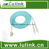 LC/PC-SC/PC Duplex Om3 Fiber Optic Patch Cable
