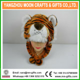 Plush Tiger Animal Winter Hat with Earflap