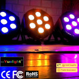 Guangzhou Hot Sale Stage PAR Can 7PCS 10W RGBW LED PAR with Ce RoHS