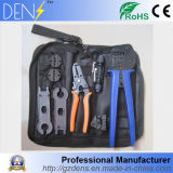 PV Solar Panel Crimping Tool with Mc3 Cable Stripper Mc4 Spanner