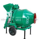 Diesel Engine Drive Cement Portable Concrete Mixer