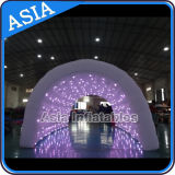 Indoor Inflatable Color Changing Tunnel, Inflatable Shinning LED Tunnel
