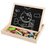 Magnetic Easel Double Side Dry Erase Board Puzzles Games