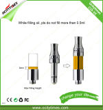C19-Vc Ceramic Adjustable Vape Cartridge Glass Tank Adjustable Top Airflow Vape Cartridge
