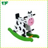 New Low MOQ Children Toy Wooden Rocking Horse