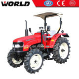 Four Wheel Drive Paddy Type 70HP Farming Tractor