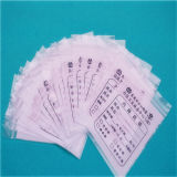 LDPE Zipper Bag, LDPE Custom Medical Zipper Bag LDPE Gripseal Bag