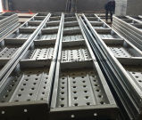 Standard Best Metal Plank, Mobile Construction Scaffold 210mm*45mm*1000mm*1.8mm 2.0mm