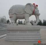 Amazing Granite / Marble Stone Animal Statue / Elephant Sculpture