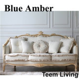 Living Room Classic Solid Wood Fabric Sofa (BA-1103)