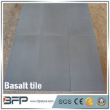 Hainan Black Natural Basalt Stone Floor Tiles for Kitchen Decoration