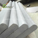 Best Price Honed Surface Grey Color Bullnose Edge Lava Stone Pool Coping