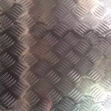 5052 5005 5754 Aluminium Tread Plate in 5 Bars Pattern