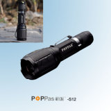 CREE Xml T6 High Power Portable Aluminum Flashlight (POPPAS-S12)