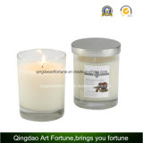 Scented Glass Candle with Metal Lid for Wedding Party