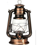 Hurricane Lamp / Kerosene Lantern - Bronze Finishes (225)