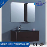 Modern Mirrored Cabinet Wall Mounted PVC Bathroom Vanity