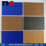 3-8mm Blue/Grey /Bronze Patterned Glass