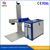 Ce and FDA Approval 20W 30W 50W Cheap Split Type Mini Portable Fiber Laser Marking Machine for Metal and Non-Metal Materials