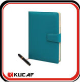 PU Cover Notebook with Buttom