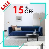 Home Furniture Living Room Sofa Couch Leg Stainless Steel Morden Sofa Set