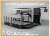 Cx-1500 Automatic Flat Type Creasing and Die Cutting Machine