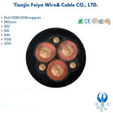 Nsshou -Tinned Copper Conductor Cross-Linked Epr Pcp 5GM5 5GM3 Rubber Sheathed Mining Cable