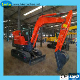 Manufacturer China Mini Hydraulic Wheel/Crawler Excavator for Sale