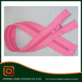 Nylon Zipper with Plastic Stopper Close End Auto Lock