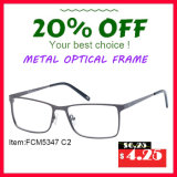 Manufacturers Wholesale Italy Designer Wine Silver Metal Optical Eye Frame Made in China