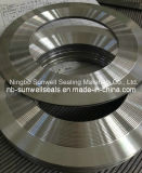 Serrated Gaskets, Kammprofile Gaskets with Outer Ring Ss304 Ss316 (SUNWELL)