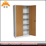 Flat-Pack Metal Furniture Steel Two Door Office Filing Cabinet