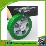 Elastic PU Wheels Swivel Caster for Hand Trolley/Cart