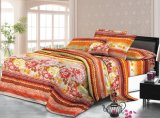100% Polyester Home Textile Bed Sheets Fabric Disperse Printing Polyester Textile Fabric